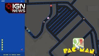 Pac-Man Comes to Google Maps - IGN News