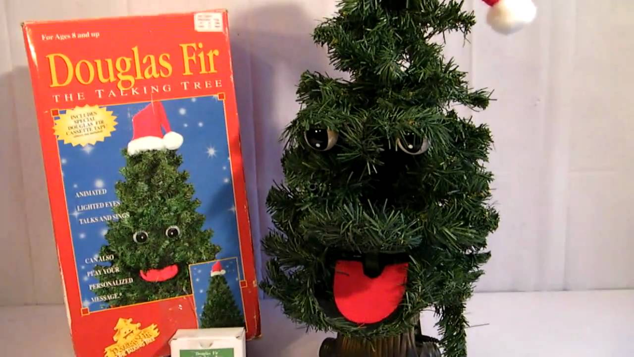 DOUGLAS FIR THE TALKING TREE HD - YouTube