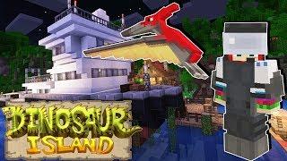 🦖 A Dinoszauruszok Szigete! 🦕 - Az eltűnt tudós - 1. rész (Dinosaur Island Minecraft Adventure Map)