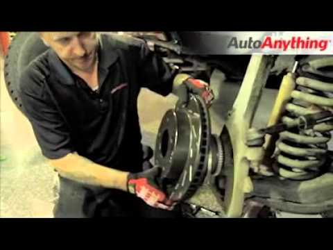 Ebc Sport Rotors >> Install EBC Ultimax Slotted Brake Rotors on a Dodge Ram - AutoAnything How-To - YouTube