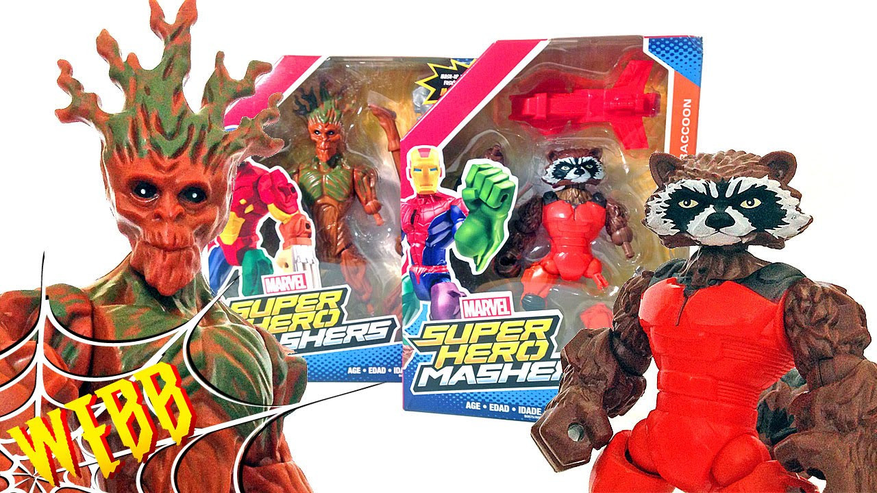 Marvel Super Hero Mashers Guardians of Galaxy Groot Action Figure