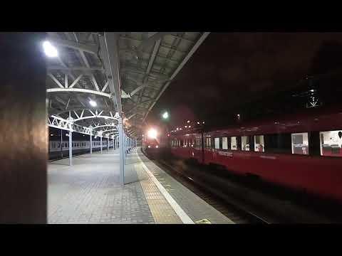 Электровоз ЧС7-285 с поездом 602 Москва - Рыбинск