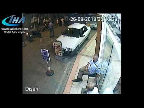Tosya'da 2 kişinin öldüğü olayın güvenlik Kamera Görüntüsü