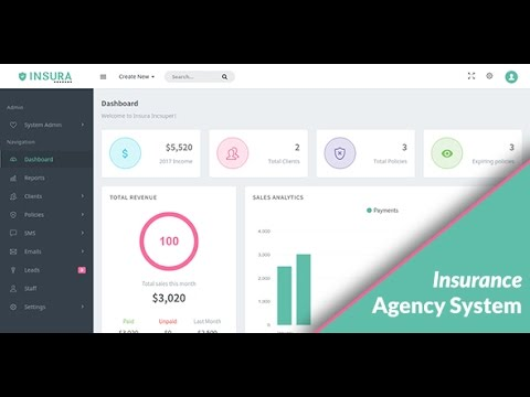Insura | Insurance Management System by Simcy_Creative