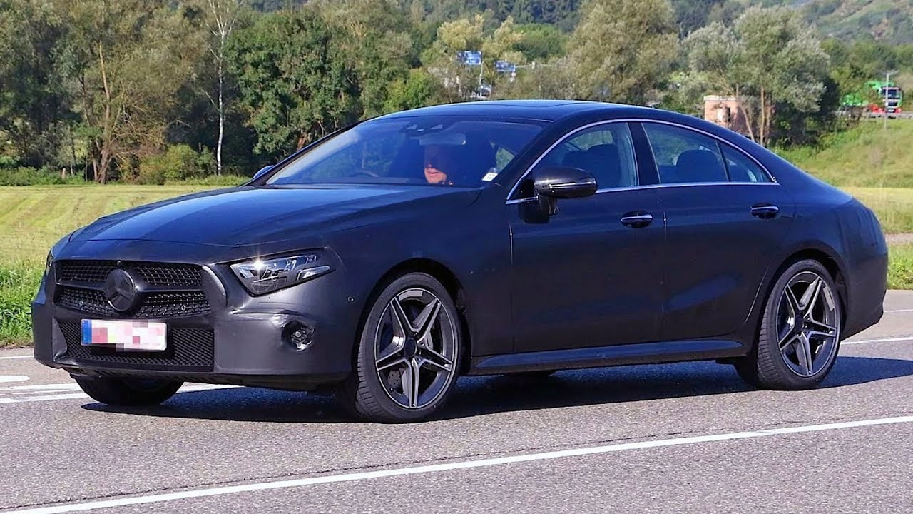 2018 Mercedes CLS (CLE) C257 with minimal camouflage - YouTube