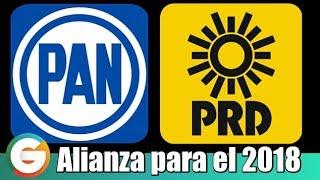 PRD aprueba aliarse con el PAN en 2018