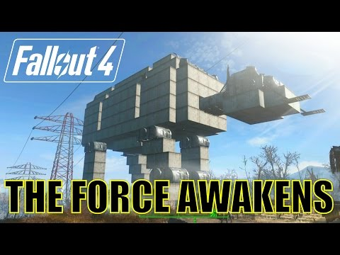 Fallout 4: The Force Awakens. Star Wars Settlement Build.