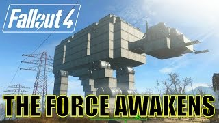 Fallout 4 The Force Awakens. Star Wars Settlement Build.