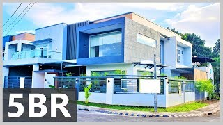 ID: QC4, QUEZON CITY Brand New FURNISHED CORNER House & Lot FOR SALE near Commonwealth & Fairview,