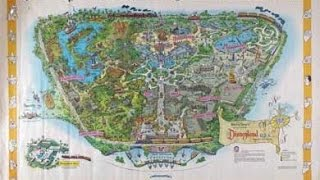 The Disneyland Map of Lost Attractions