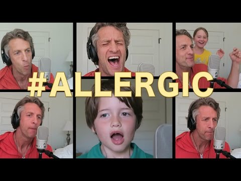 ALLERGIC   ACAPELLA Britney Spears Toxic Parody   The Holderness Family