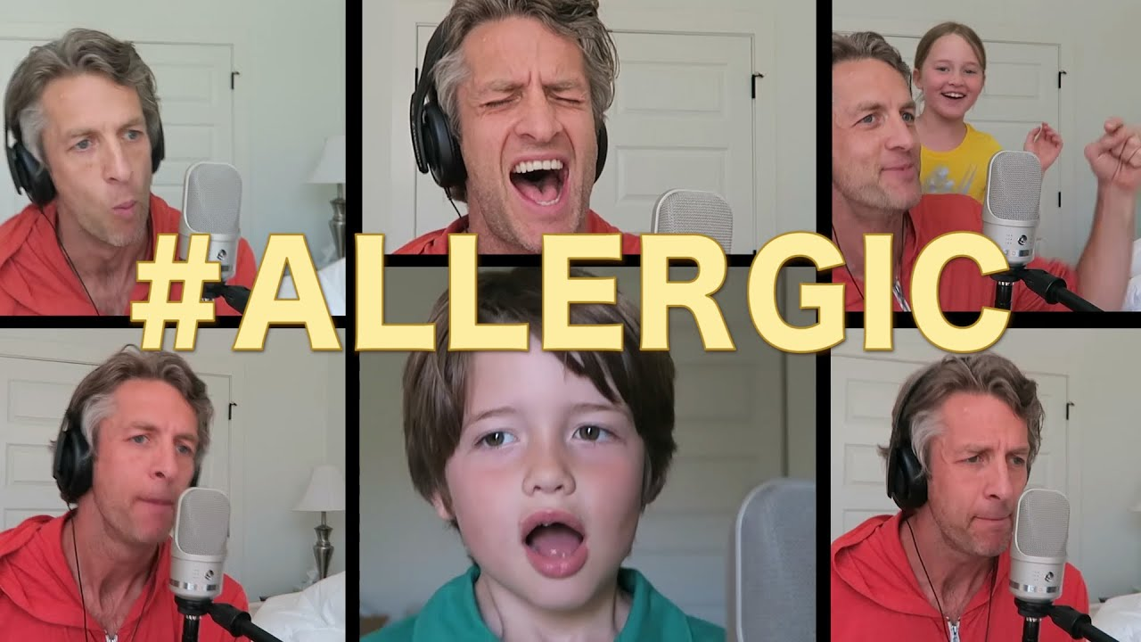 Penn Holderness Baby It's Cold Outside Allergic Acapella Britney Spears Toxic Parody The Holderness Family Youtube
