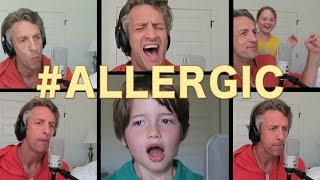 ALLERGIC | ACAPELLA Britney Spears Toxic Parody | The Holderness Family