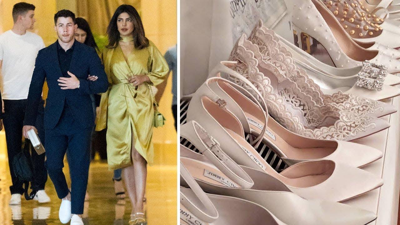 Priyanka Chopra Shops For Her Wedding Shoes In Paris | Priyanka Chopra Wedding Special 2018 - YouTube