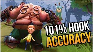 101% HOOK ACCURACY # 9 | DENDI PUDGE KING is BACK | Dota 2