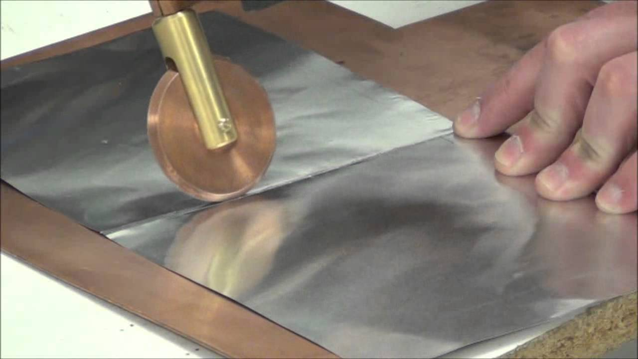Roll spot weld 4mil and 15mil aluminum foil with sunstone cd roll spot weld 4mil and 15mil aluminum foil with sunstone cd welder and pasp hand piece attachment youtube sciox Gallery