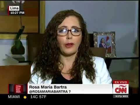 Rosa María Bartra en CNN sobre posible renuncia de Pedro Pablo Kuczynski por Odebrecht