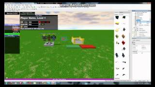 How to make a RPG place ROBLOX 2012
