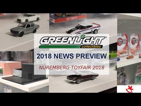 GREENLIGHT 1:64 TOY CARS - NEWS FOR 2018- Nuremberg ToyFair/Spielwarenmesse