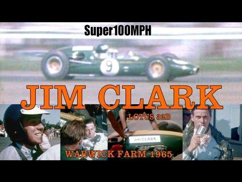 JIM CLARK 1965 Warwick Farm - Lotus 32B
