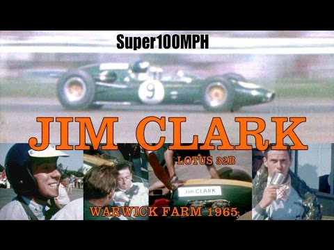 JIM CLARK 1965 Warwick Farm - Lotus 32B