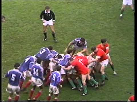 Wales V France 1994 - Rugby International - Cardiff Arms Park - Highlights
