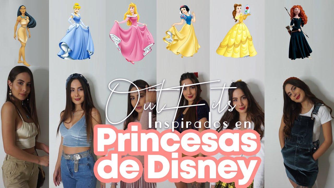 Outfits inspirados en las princesas de Disney
