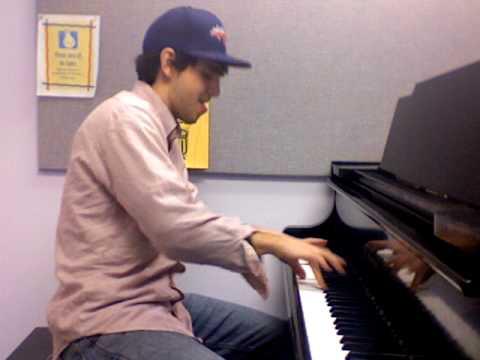 12 Bar Blues in C Piano Improvisation