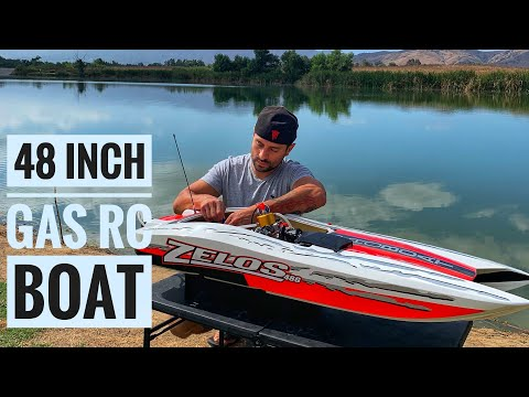 RC Boat Day! Ep 2  — Zelos Proboat 48G - Smith RC Studios