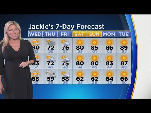 Jackie Johnson's Weather Forecast (Sept. 19)