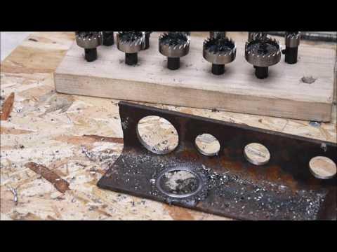 Кольцевые сверла по металлу из быстрорежущей стали