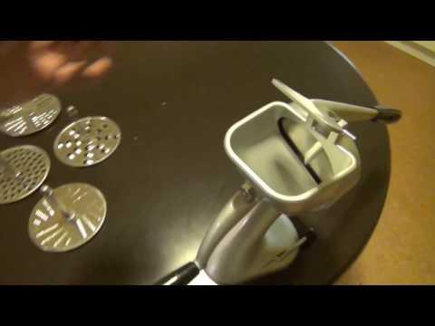 TEST-Funktionsprüfung Minna DBP M3 mechanische Küchenmaschine