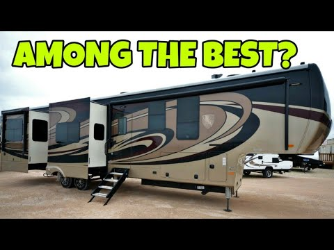 Super Luxury Fifth Wheel RV! One of the nicest I've toured!  Landmark Concord