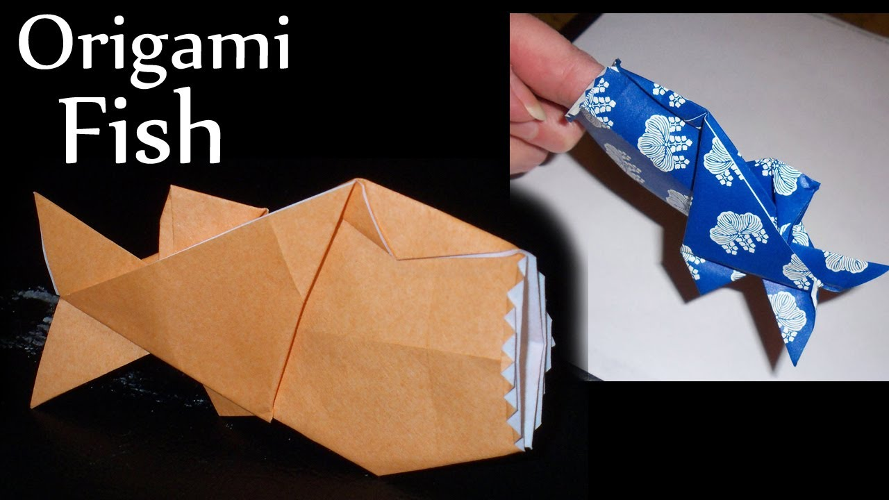 Polly the Finger-Eating Fish Origami by Jeremy Shafer ... - photo#47