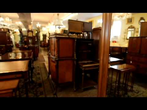 Mill House Antiques Interview with Dave and First Floor Showroom Tour