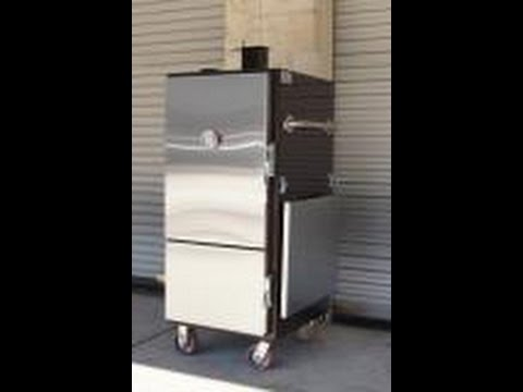 Mini Insulated Cabinet Smoker By Lone Star Grillz   YouTube