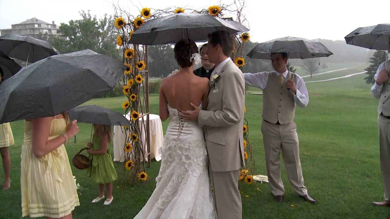 Rain, Rain, Go Away, Don't You Know There Is A Wedding