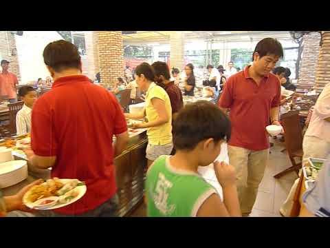 Buffet Happy Tom Restaurant Saigon District 3 Vietnam Ho Chi Minh City Buffet