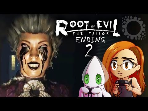 Root of Evil: The Tailor - EVIL WOMAN EVERYWHERE & THE TWIST ENDING ~Part 2~ (Indie Horror Game)