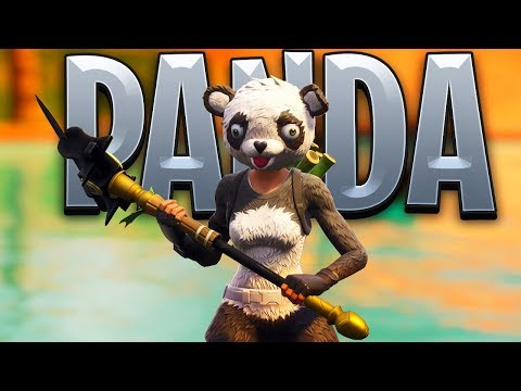 New Fortnite PANDA SKIN Gameplay..