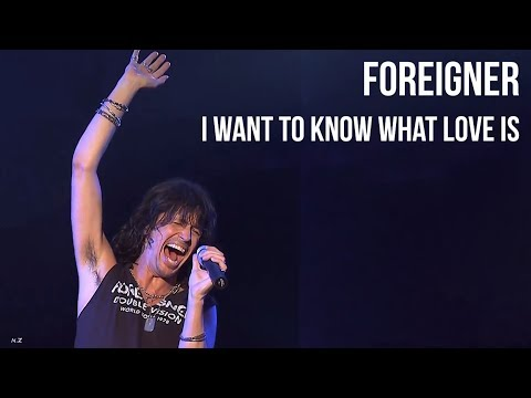 Foreigner - I Want To Know What Love Is  sub Español +