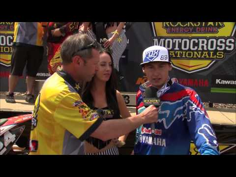2014 - Round 1 - MX2 - Rockstar Energy Drink Motocross Nationals