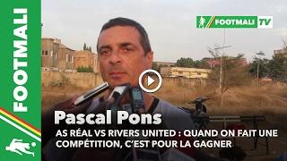 Pascal Pons au micro de footmali à quelques heures du duel As Réal - Rivers United 2017 Video