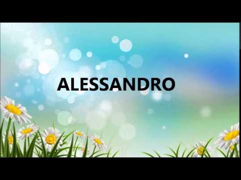 Tanti Auguri Alessandro Youtube