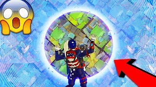SMALLEST CIRCLE EVER! - I TRAPPED HIM IN THE STORM! (Fortnite: Battle Royale Challenge)