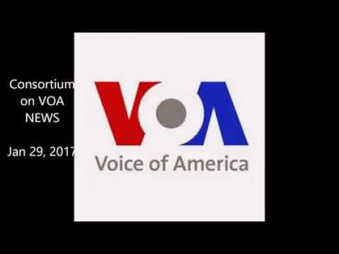 TAPANG ON VOICE OF AMERICA RADIO WITH ANGLOPHONE PROBLEM.