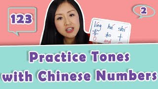 Learn Chinese Tones: Practice Mandarin Tones with Chinese Numbers | Yoyo Chinese Tone Practice