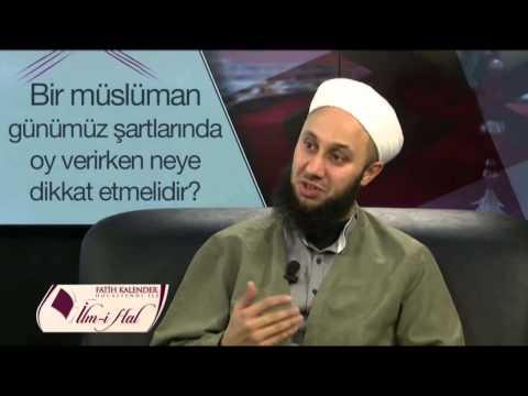 Müslüman Seçimlerde Oy Kullanabilir mi? Fatih Kalender Hoca Efendi