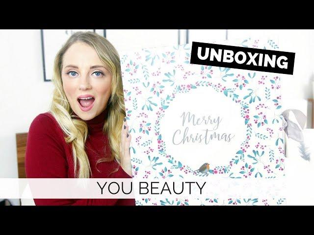 YOU BEAUTY ADVENT CALENDAR 2017 UNBOXING | Paula Holmes