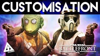 Star Wars Battlefront All Customisation Options & Emotes